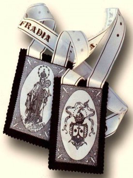 Rito de imposición del Santo Escapulario de la Virgen Carmen
