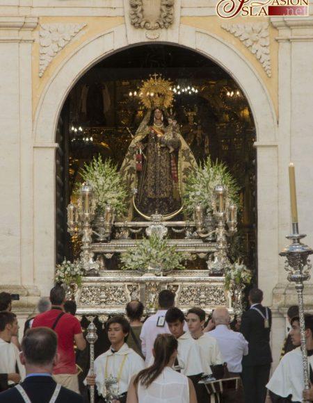 Traslado de la Virgen del Carmen a la Iglesia Mayor - Corpus 2017