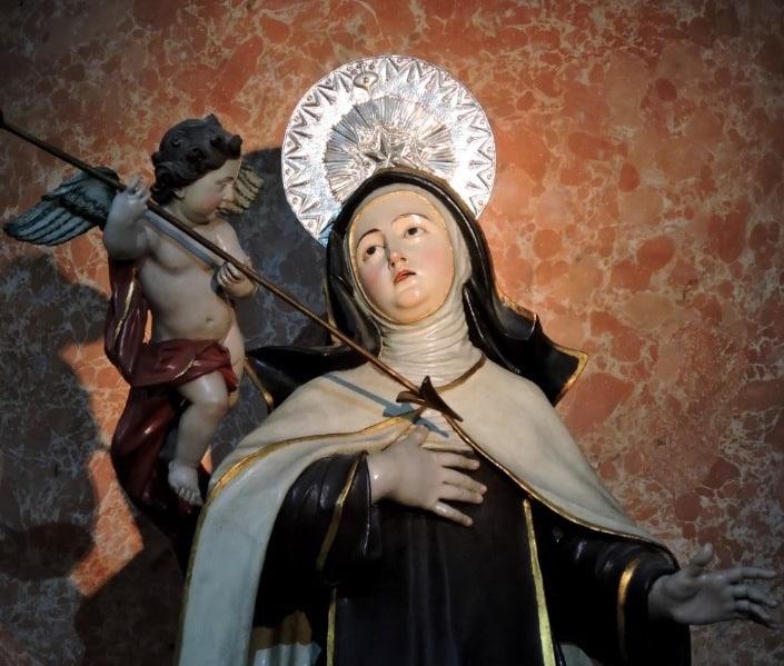 Primer día del Triduo a Santa Teresa de Jesús
