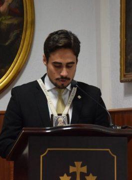 Nuestro hermano D. Víctor Antonio Peralta Rodríguez pronunciará el XXXVIII Pregón de la Juventud Cofrade