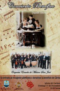Concierto benéfico en la Iglesia del Carmen a favor de CÁRITAS
