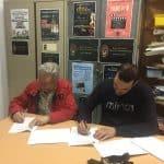 Firma Contrato Banda Agripino