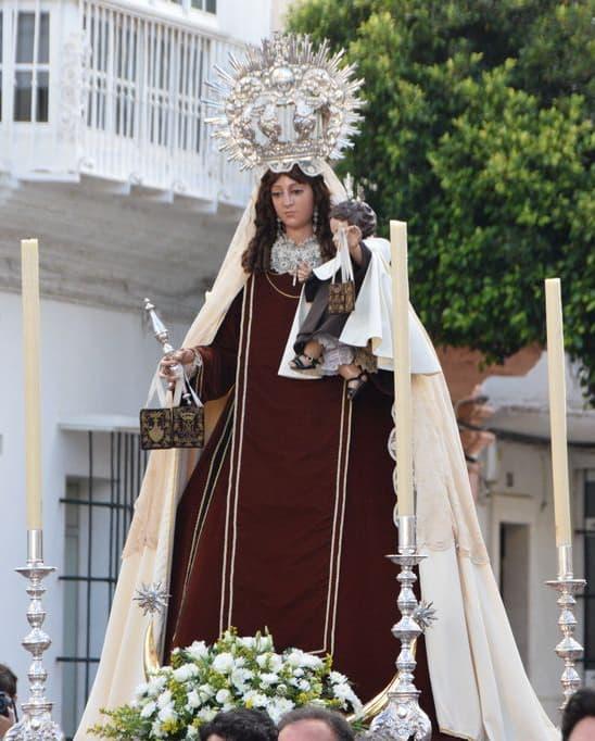 La Virgen del Carmen regresó a su templo en Rosario de la Aurora
