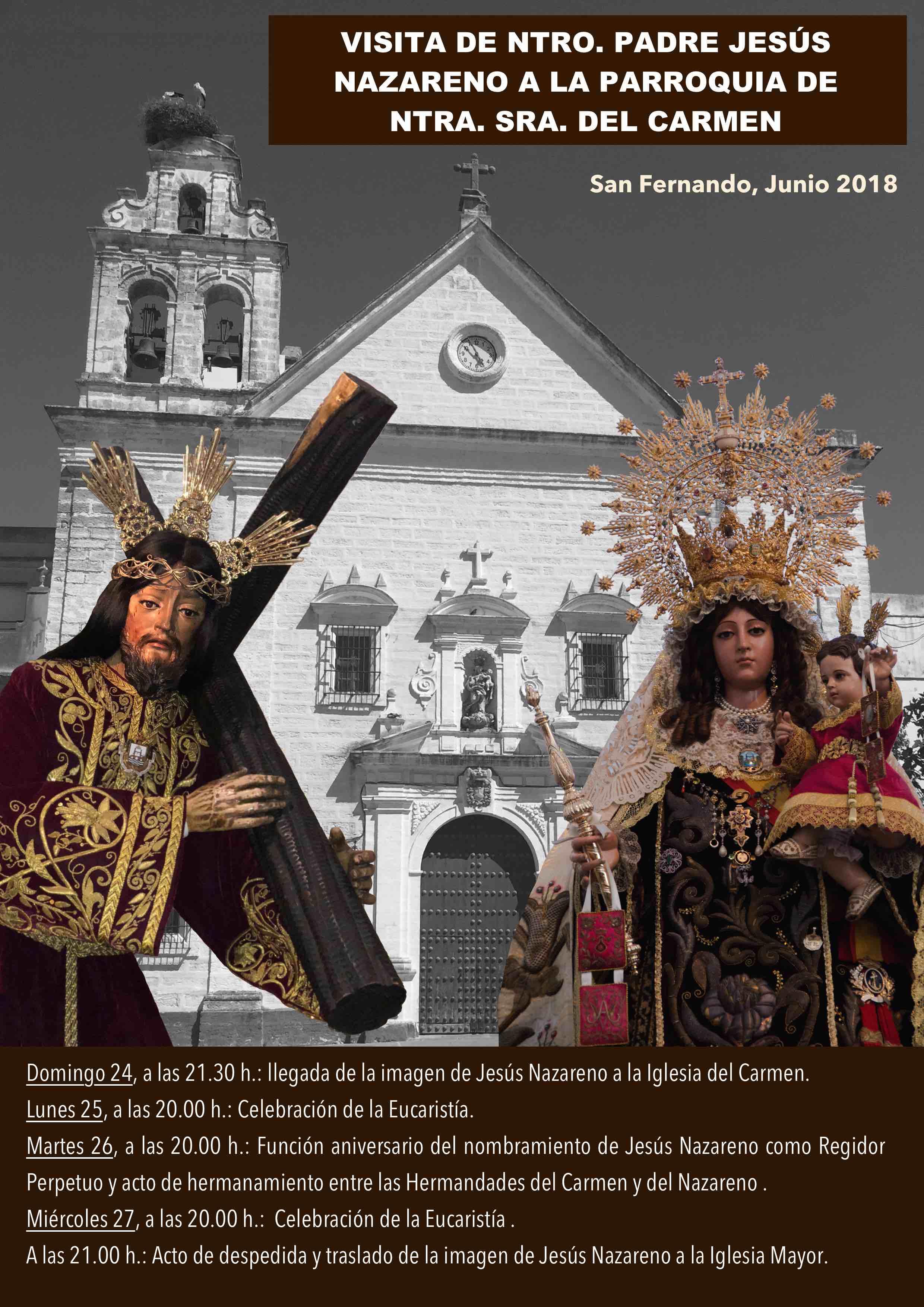 Visita Nazareno al Carmen