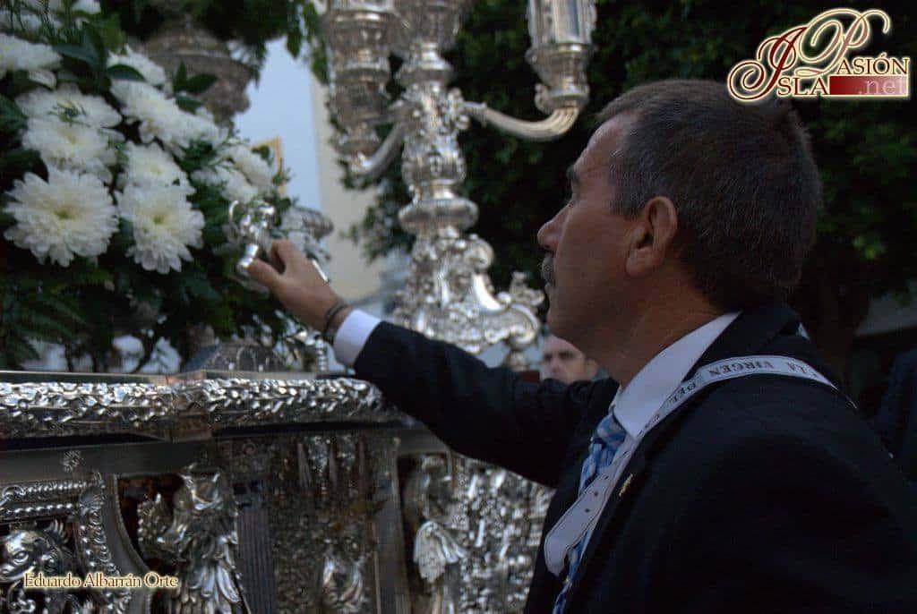 Fallece Antonio Valverde, mayordomo de nuestra Hermandad