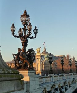 Detalle farolas Puente Alejandro III