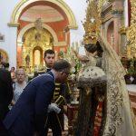 Virgen del Carmen en Besamano