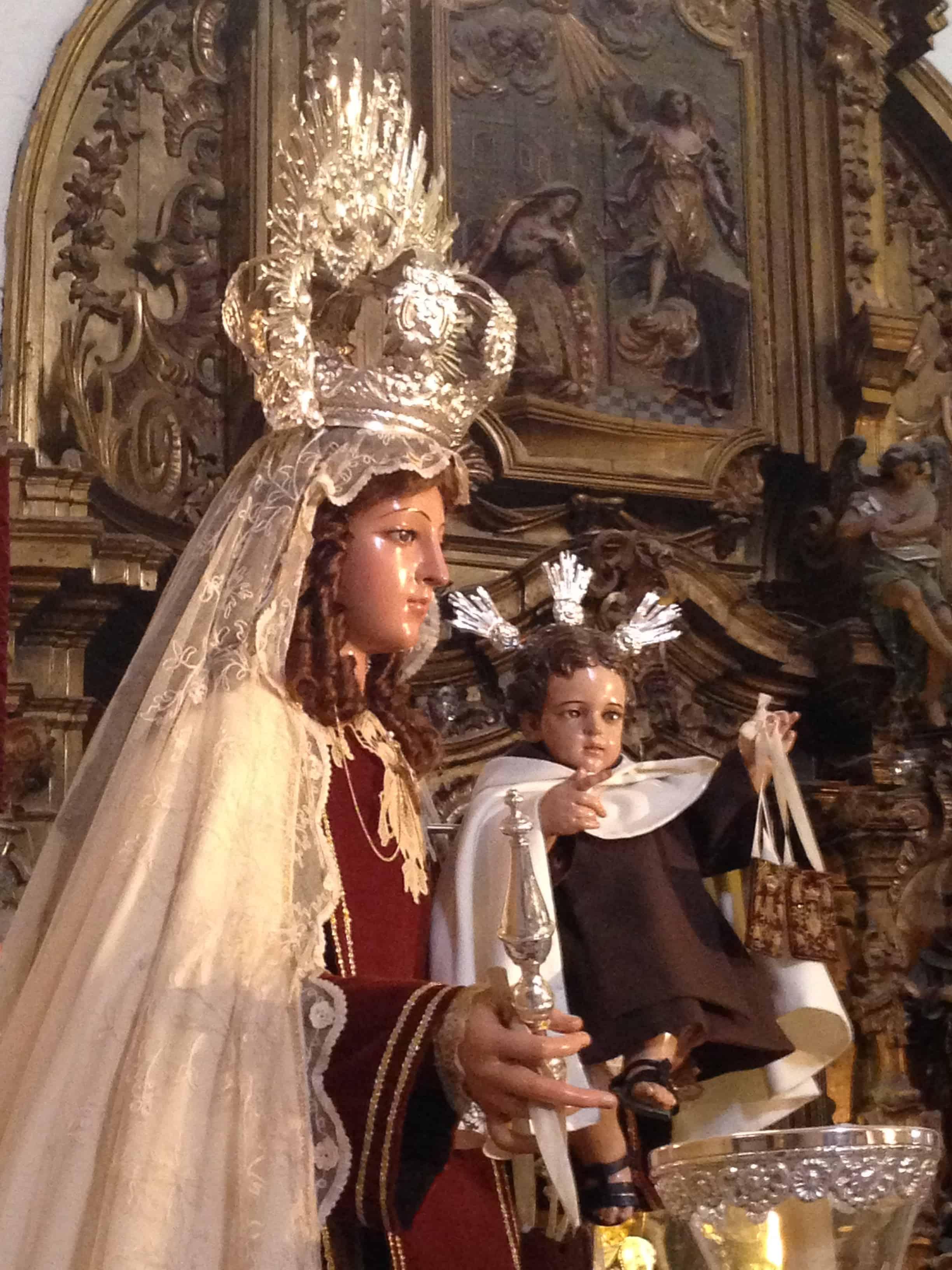Visita A La Virgen Del Carmen Venerable Y Real Hermandad