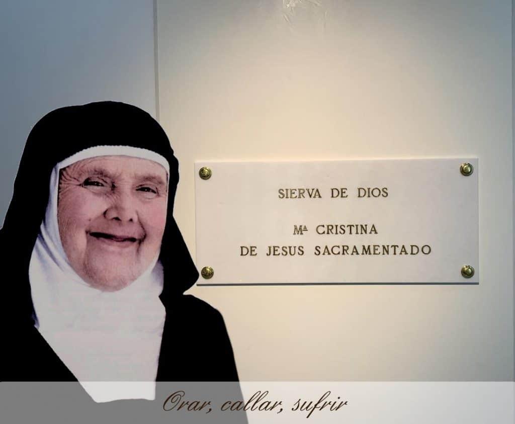 Hermana Cristina Jesus Sacramentado