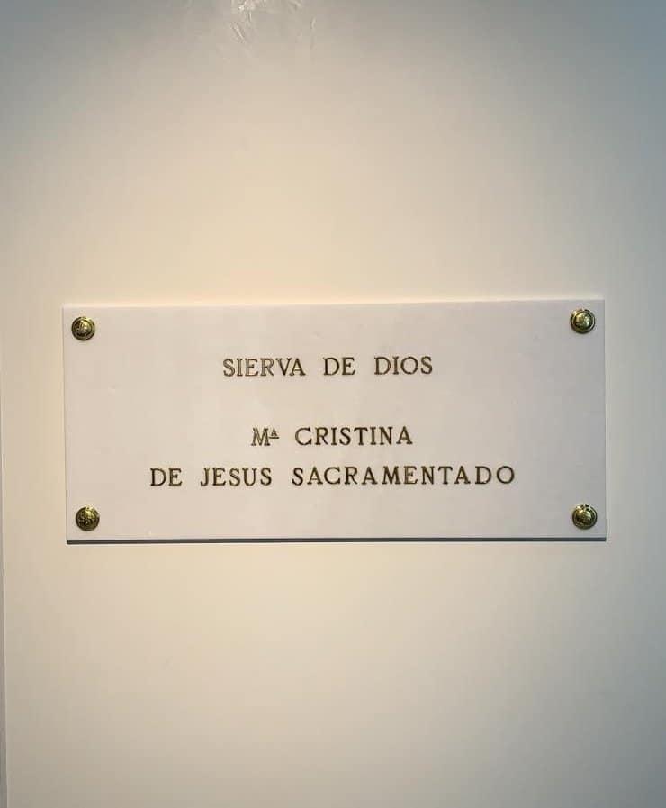 Sepultura Hna Cristina
