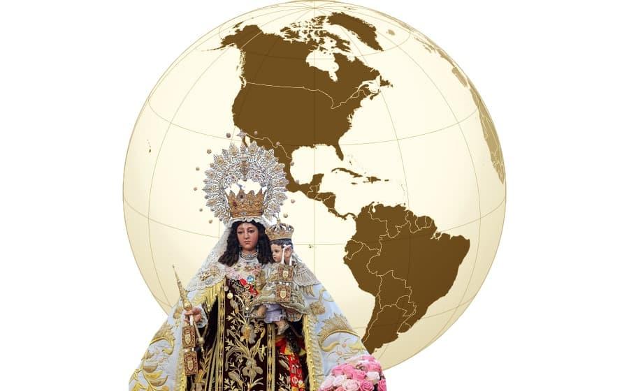 Virgen del Carmen en el mundo