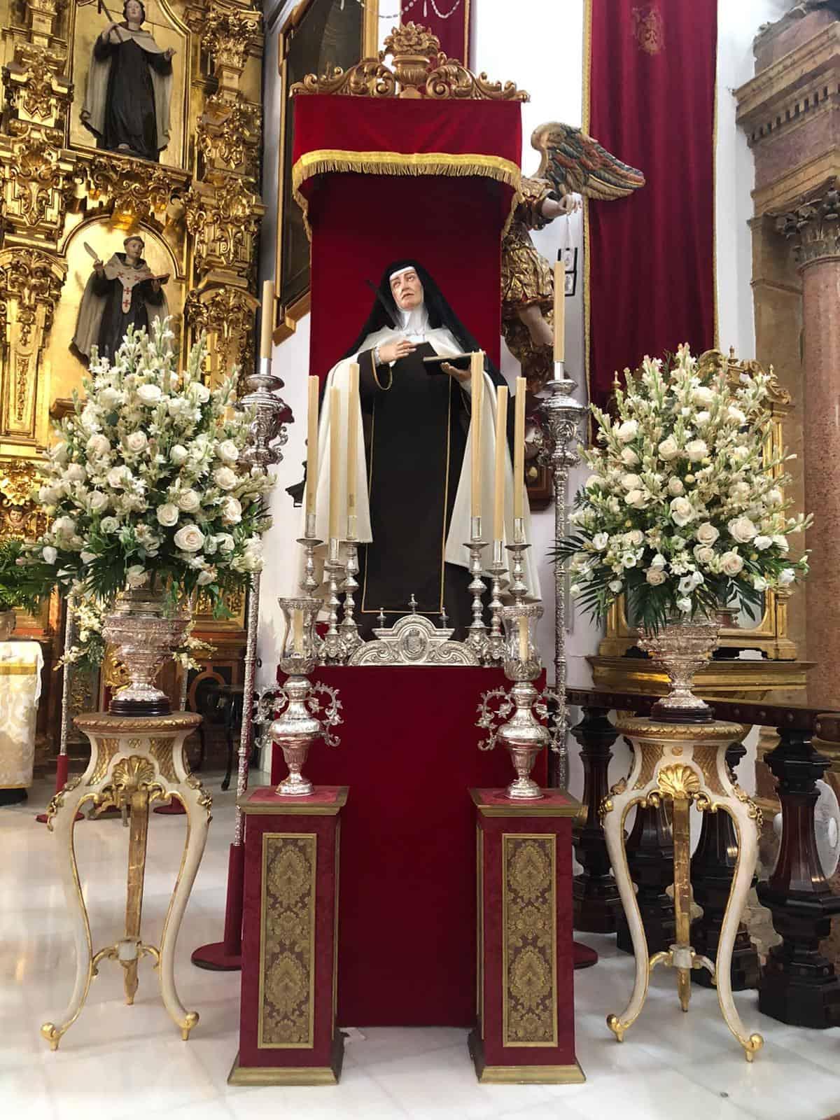 Hoy comienza el Triduo en honor a Santa Teresa de Jesús