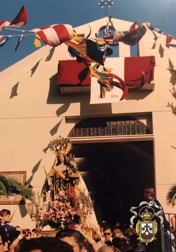 Recordamos en Youtube la visita de la Virgen del Carmen a las Parroquias  en 1996