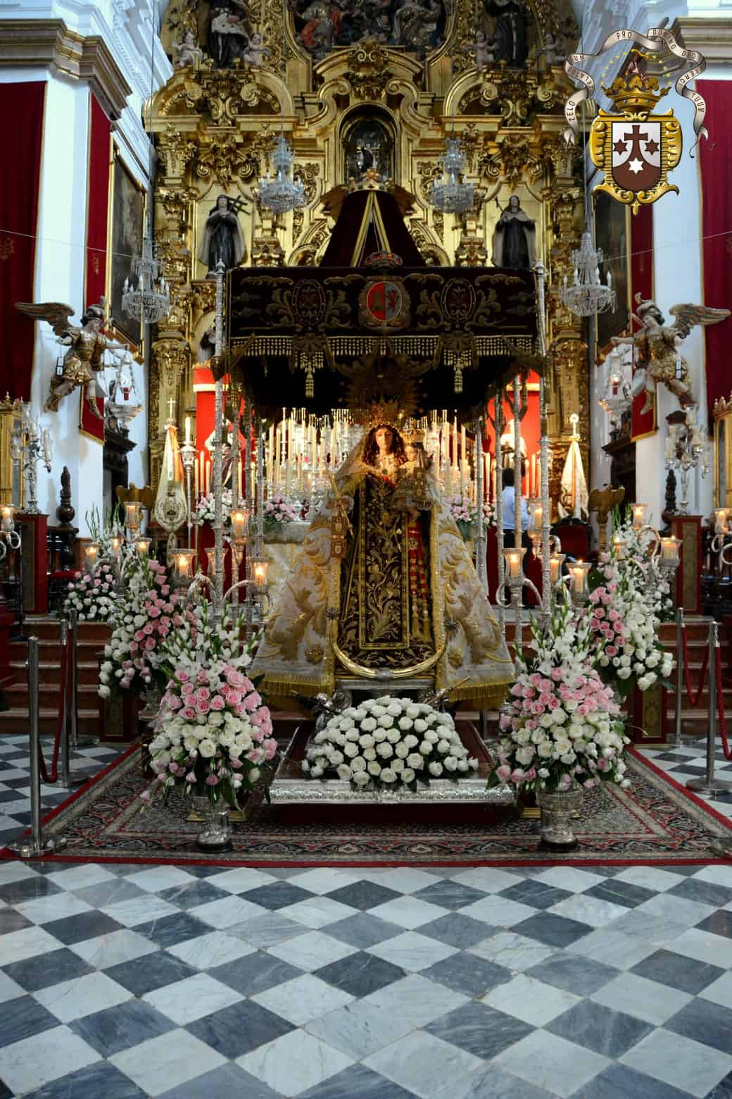 El acto de Veneración a la Virgen del Carmen culmina un 16 de julio especial marcado por la crisis sanitaria