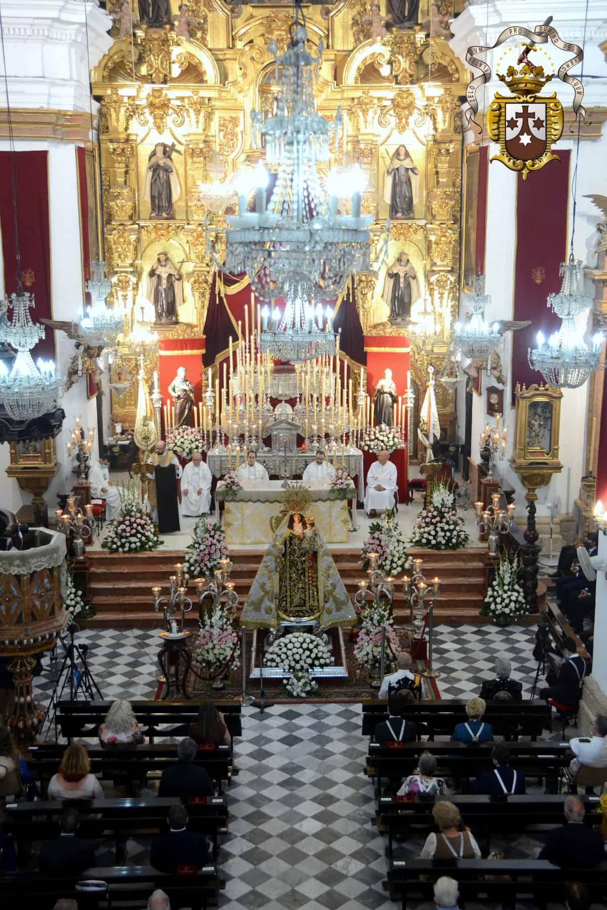 La Función Principal de Instituto fue oficiada por el P. Fray David María Alarcón Losa
