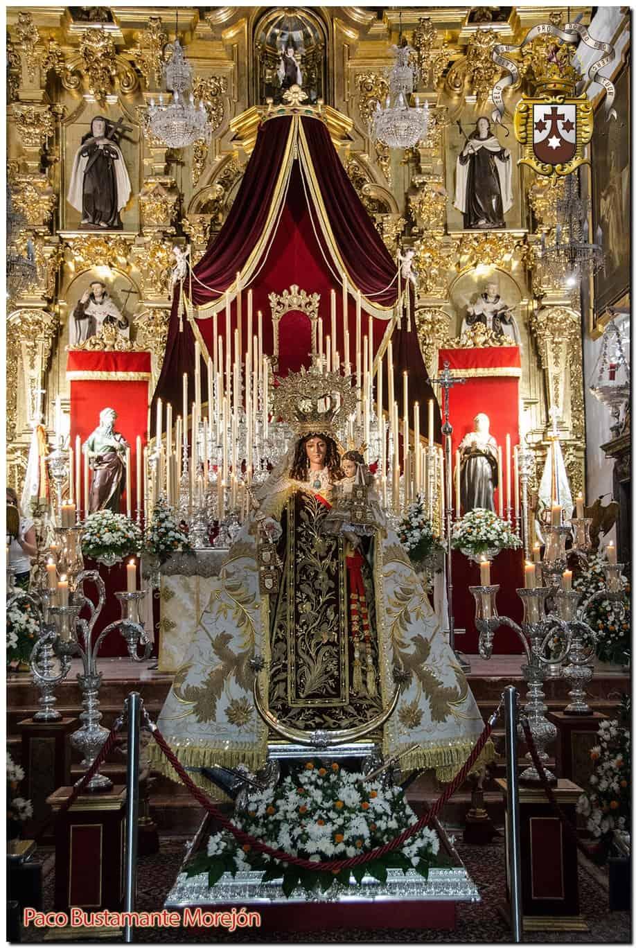 Comenzó la Solemne Novena a la Virgen del Carmen