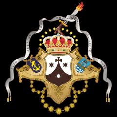 Escudo de la Venerable y Real Hermandad de Nuestra Señora del Carmen Coronada